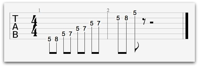 Minor Pentatonic Lick
