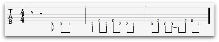 best guitar tabs for beginners