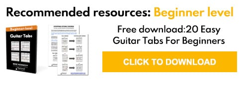 guitar tabs for beginners