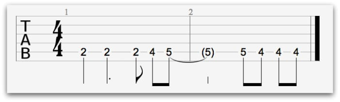 satisfaction guitar tab